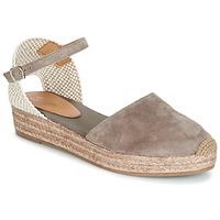 Pantofi Femei Sandale și Sandale cu talpă  joasă Betty London ANTALA Gri