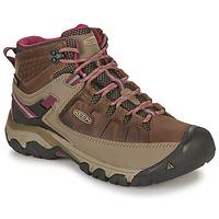 Încăltăminte Femei Drumetie și trekking Keen TARGHEE III MID WP Maro / Roz