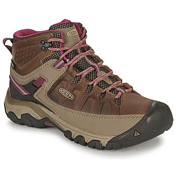 Pantofi Femei Drumetie și trekking Keen TARGHEE III MID WP Maro / Roz