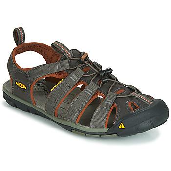 Pantofi Bărbați Sandale sport Keen MEN CLEARWATER CNX Gri / Maro