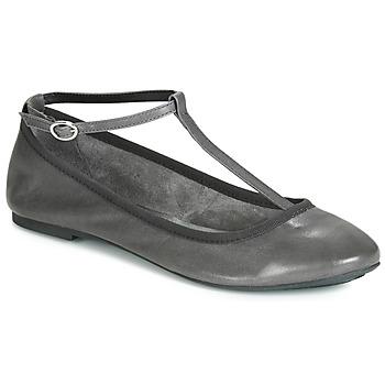 Pantofi Femei Balerin și Balerini cu curea André LILAS Gri