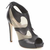 Pantofi Femei Botine Rupert Sanderson ORBIT Negru / Bej