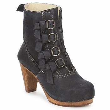Pantofi Femei Botine Sanita ELM CONE Negru
