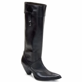Pantofi Femei Cizme casual Stephane Gontard PUCCINI Negru