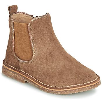 Pantofi Fete Ghete André ARIA Camel