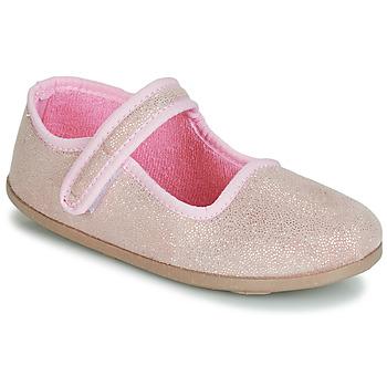 Pantofi Copii Balerin și Balerini cu curea André VIOLINE Roz