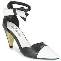 Pantofi Femei Sandale  Lola Ramona RAMONA Negru / Alb