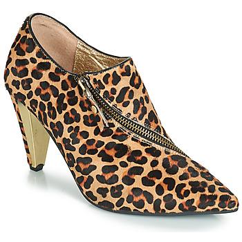 Pantofi Femei Botine Lola Ramona RAMONA Leopard
