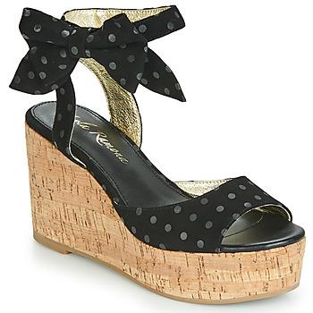 Pantofi Femei Sandale  Lola Ramona NINA Negru