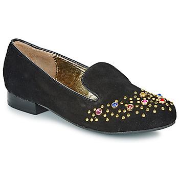 Pantofi Femei Mocasini Lola Ramona PENNY Negru / Auriu