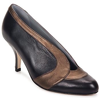 Pantofi Femei Pantofi cu toc Fred Marzo MADO BOOT  lamé / Bronz