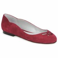 Pantofi Femei Balerin și Balerini cu curea Fred Marzo MOMONE FLAT Roșu-bordeaux