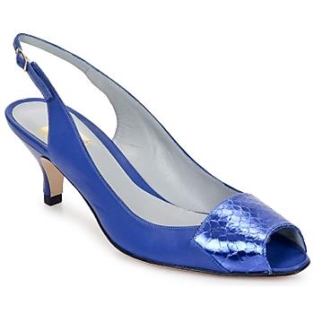 Pantofi Femei Sandale și Sandale cu talpă  joasă Fred Marzo LILI SLING  electric-blue