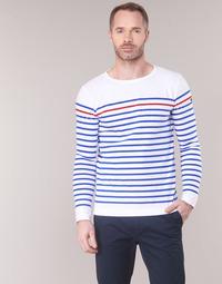 Îmbracaminte Bărbați Tricouri cu mânecă lungă  Armor Lux YAYAYOUT Alb / Albastru / Roșu