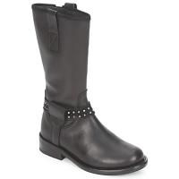 Pantofi Fete Ghete Hip GRABI Negru
