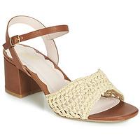 Pantofi Femei Sandale  Miss L'Fire MIRO Maro