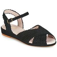 Pantofi Femei Sandale  Miss L'Fire BRIGITTE Negru