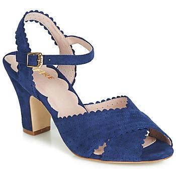 Pantofi Femei Sandale  Miss L'Fire BEATRIZ Albastru