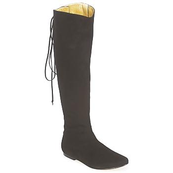 Pantofi Femei Cizme casual French Sole PRINCE Negru