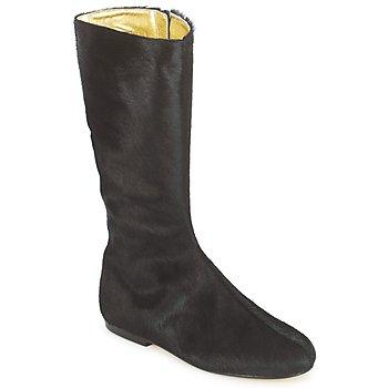 Pantofi Femei Cizme casual French Sole PATCH Negru