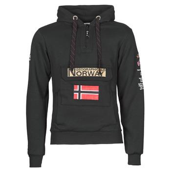 Îmbracaminte Bărbați Hanorace  Geographical Norway GYMCLASS Negru