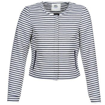 Îmbracaminte Femei Sacouri și Blazere Vero Moda MALTA Bleumarin / Alb