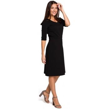 Îmbracaminte Femei Topuri și Bluze Style S153 Rochie cu decolteu în V - negru