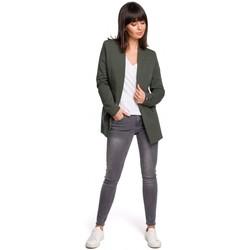 Îmbracaminte Femei Rochii Be B103 Blazer deschis plus size - verde militar