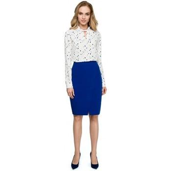 Îmbracaminte Femei Jerseuri și Cardigane Style S127 Fustă creion - albastru regal