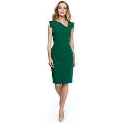 Îmbracaminte Femei Rochii scurte Style S121 Rochie creion cu decolteu asimetric - verde