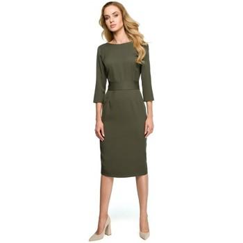 Îmbracaminte Femei Rochii Style S119 Rochie cu nasturi uni - kaki