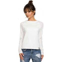 Îmbracaminte Femei Tricouri cu mânecă lungă  Be B047 Bluză versatilă - ecru
