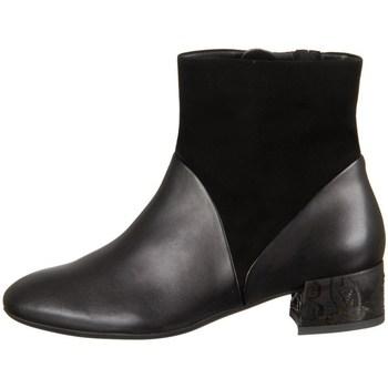 Pantofi Femei Botine Think Glei Negre