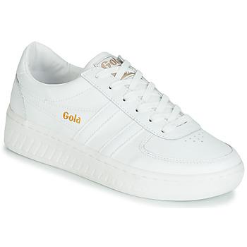 Pantofi Femei Pantofi sport Casual Gola GRANDSLAM LEATHER Alb