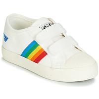 Pantofi Copii Pantofi sport Casual Gola COASTER RAINBOW VELCRO Alb