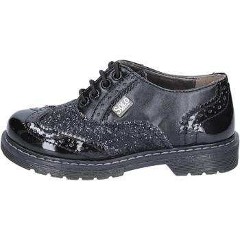 Pantofi Fete Pantofi Derby Solo Soprani BT296 Negru