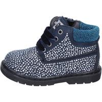 Pantofi Fete Botine Asso BT297 Albastru