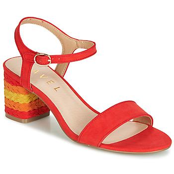 Pantofi Femei Sandale  Ravel CLEMONT Portocaliu