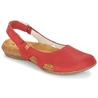 Pantofi Femei Sandale  El Naturalista WAKATAUA Roșu