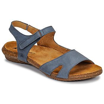 Încăltăminte Femei Sandale și Sandale cu talpă  joasă El Naturalista WAKATAUA Albastru