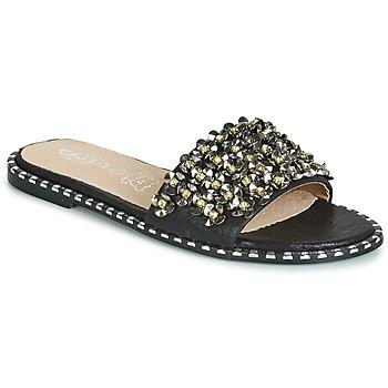 Pantofi Femei Papuci de vară Cassis Côte d'Azur ALVINA Negru