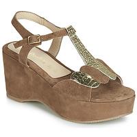 Pantofi Femei Sandale și Sandale cu talpă  joasă Lola Espeleta NAWELLE Maro