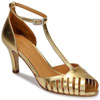 Pantofi Femei Sandale și Sandale cu talpă  joasă Emma Go JOELLE Auriu