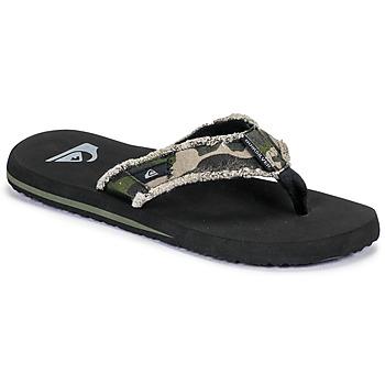 Pantofi Bărbați  Flip-Flops Quiksilver MONKEY ABYSS M SNDL XGCK Verde /  militar