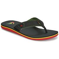 Pantofi Bărbați  Flip-Flops Quiksilver MOLOKAI ABYSS M SNDL XGKG Negru