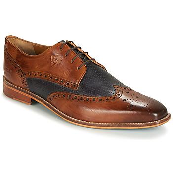 Încăltăminte Bărbați Pantofi Derby Melvin & Hamilton MARTIN 16 Maro / Albastru