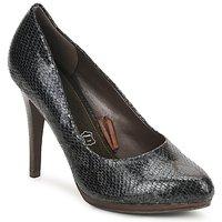 Pantofi Femei Pantofi cu toc StylistClick PALOMA Negru / Piton