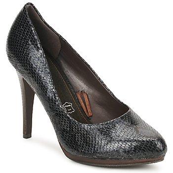 Încăltăminte Femei Pantofi cu toc StylistClick PALOMA Negru / Piton