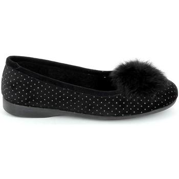 Pantofi Femei Balerin și Balerini cu curea Boissy Ballerine JH2325 Noir Negru
