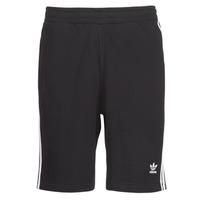 Îmbracaminte Bărbați Pantaloni scurti și Bermuda adidas Originals 3 STRIPE SHORT Negru